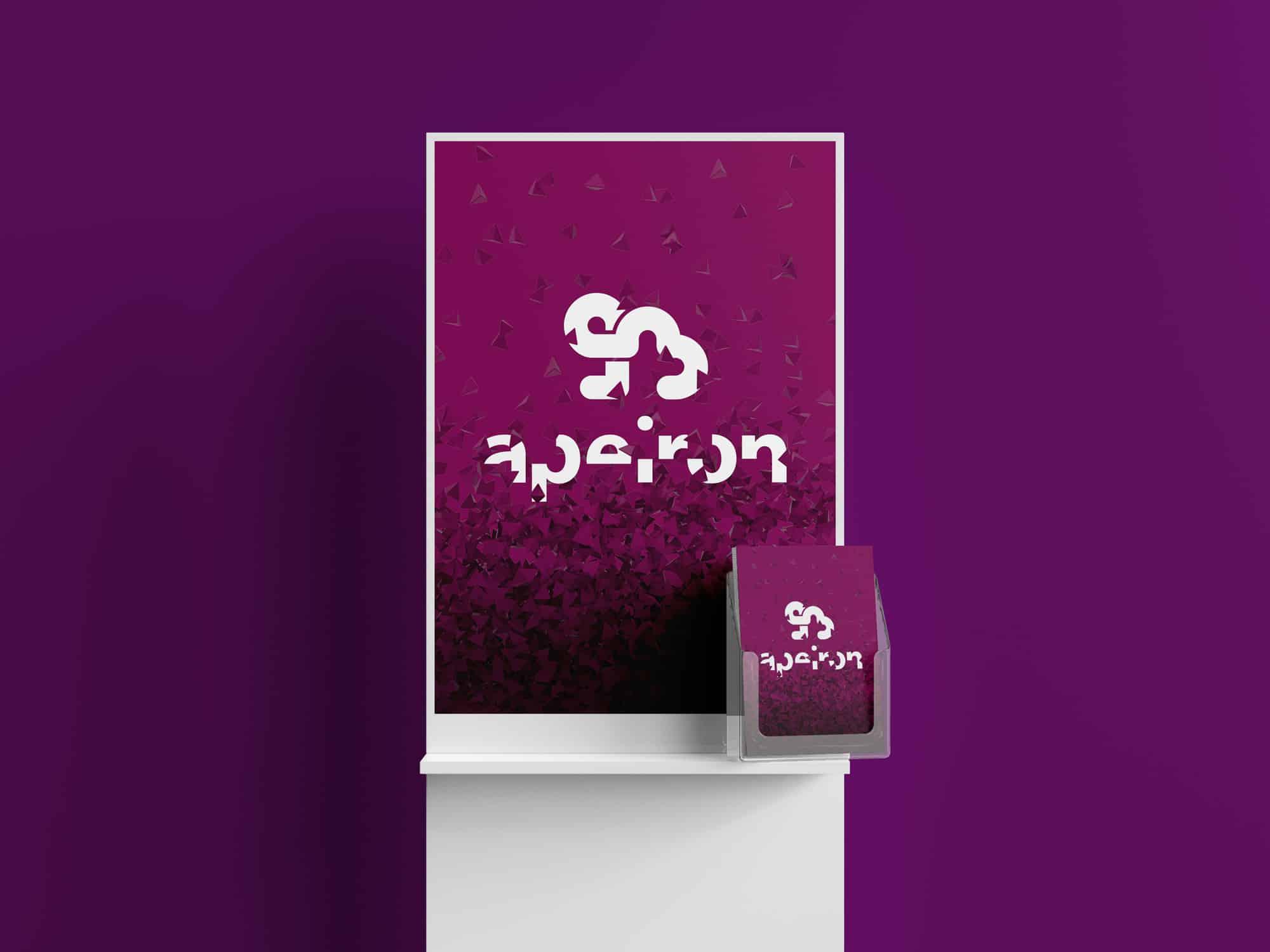 apeiron branding plakat